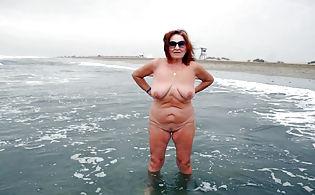 Nude women beach