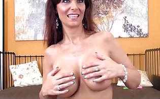 Redhead mom naked